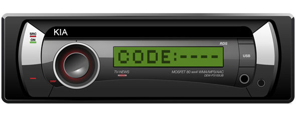 Kia Radio Decoding