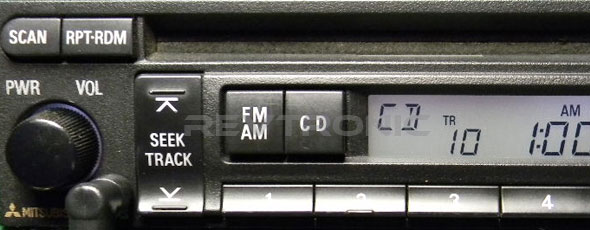 Mitsubishi Radio Decoding
