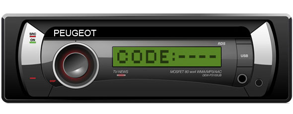 Peugeot Radio Decoding