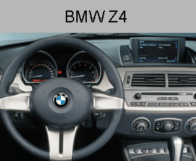 BMW Z4 model E85 MK4 DVD Sat Nav Drive Repair