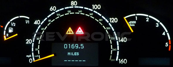 Mercedes Instrument Cluster Repair