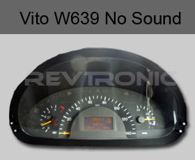 Mercedes Vito Viano W639 Dashboard Speaker Not Working No Audible Tone