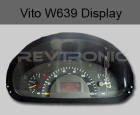 Mercedes Vito and Viano W639 LCD Instrument Cluster Display Going Dim or Fading